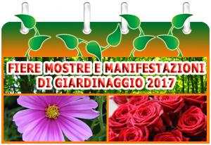 Calendario Mostre e Manifestazioni di Giardinaggio 2016