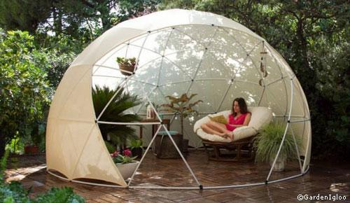 Molto Arriva la Garden Igloo, la cupola geodetica da montare in giardino  ZL11
