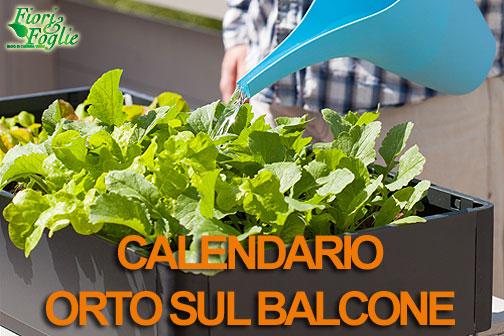 Mini Giardino Sul Balcone : Calendario dell orto sul balcone cosa e quando seminare in vaso