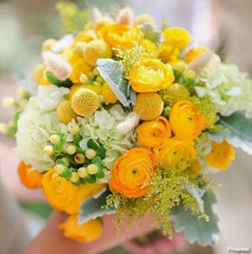 Fiori Gialli A Palla.Craspedia Il Fiore A Pallina Che Fa Impazzire Le Spose D Estate