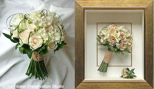 Come Conservare Il Bouquet Della Sposa.Il Bouquet Di Nozze Trasformalo In Un Quadro Fiori E Foglie