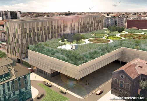 Milano il nuovo policlinico di boeri avr un giardino - Giardino sul tetto ...