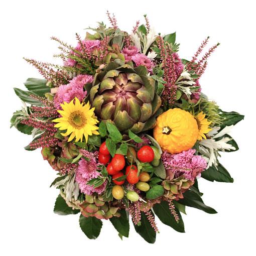 Mazzo Di Fiori E Verdure.Un Bouquet Di Verdure E Fiori Per La Festa Della Mamma Fiori E