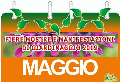 Trento Fiere Calendario.Calendario Mostre Visite Ed Eventi Maggio Fiori E Foglie