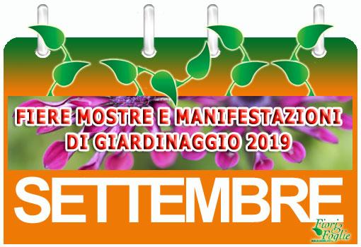 Milano Fiere Calendario.Calendario Mostre Visite Ed Eventi Settembre Fiori E Foglie