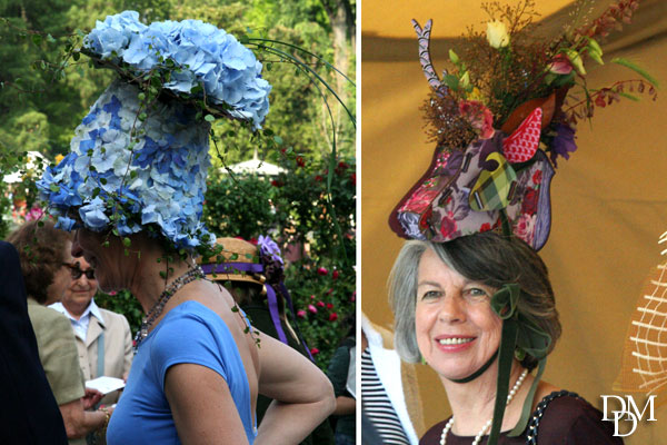 Orticola, la parata dei cappellini