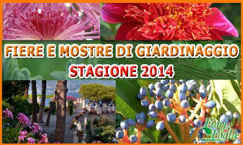 fiere giardinaggio2014 Mostre ed eventi di giardinaggio 2014