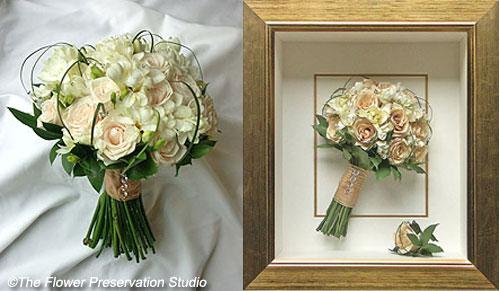 come conservare il bouquet della sposa