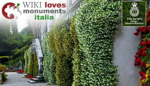 wikilovesmonuments villacar Wiki Loves Monuments, partecipa con una foto allorto botanico!
